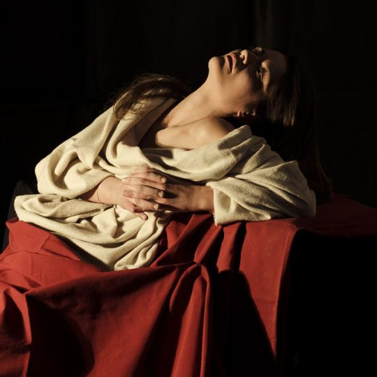 Caravaggio - From Reality to the Painting, Photo of Maria Maddalena