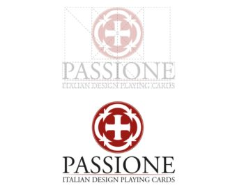 Logo Design for Passione Playing Cards LLC