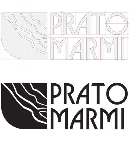 Branding for Pratomormi, Black Logo