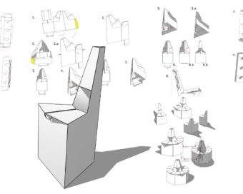Instructions for Cardboard Furniture, Chair - Cover