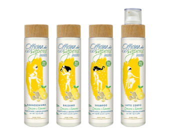Packaging Illustrations for Lemon And Ginger Flavour